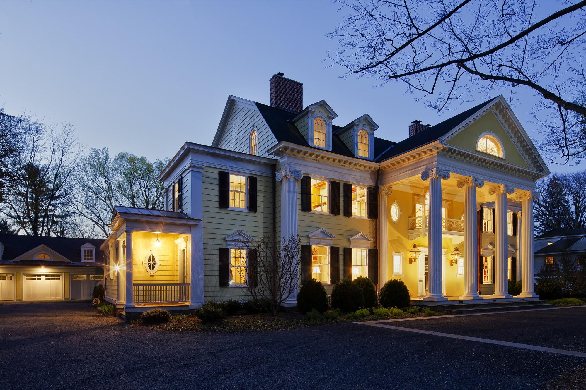 Neoclassical Home Princeton Nj