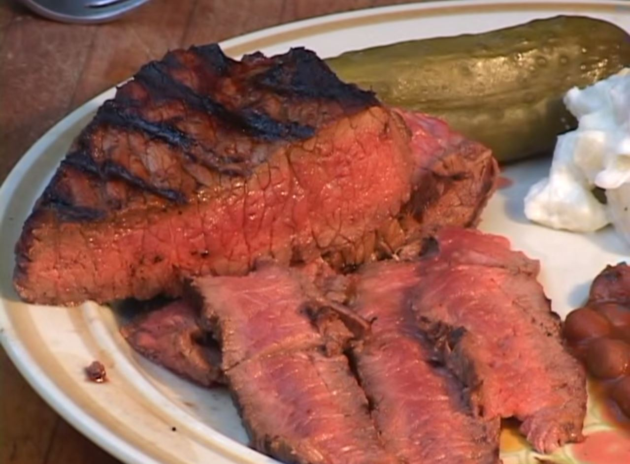 Grilled Or Broiled Steak Recipe — Dishmaps