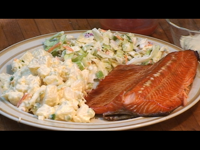how to cook rainbow trout on the grill