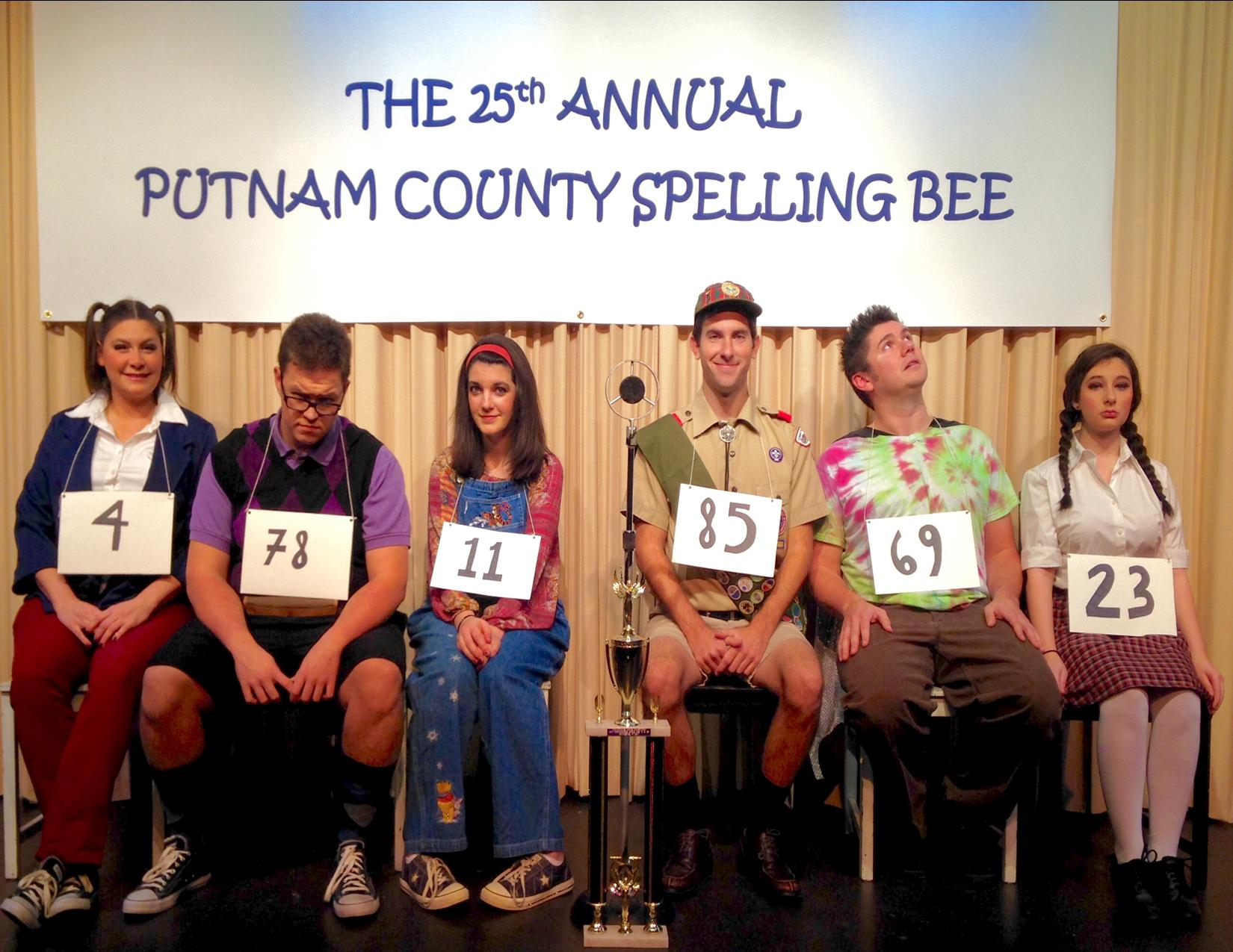 the 25th annual spelling bee A riotous ride, complete with audience participation, the 25th annual putnam county spelling bee is a delightful den of comedic genius the small cast and unit set make this a perfect option for high schools or community theatres the 25th annual putnam county spelling bee is a fast-paced crowd pleaser and an instant theatre patron favorite.