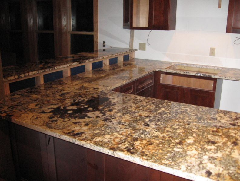 Es Countertops Granite Mascarello Breakfast Top