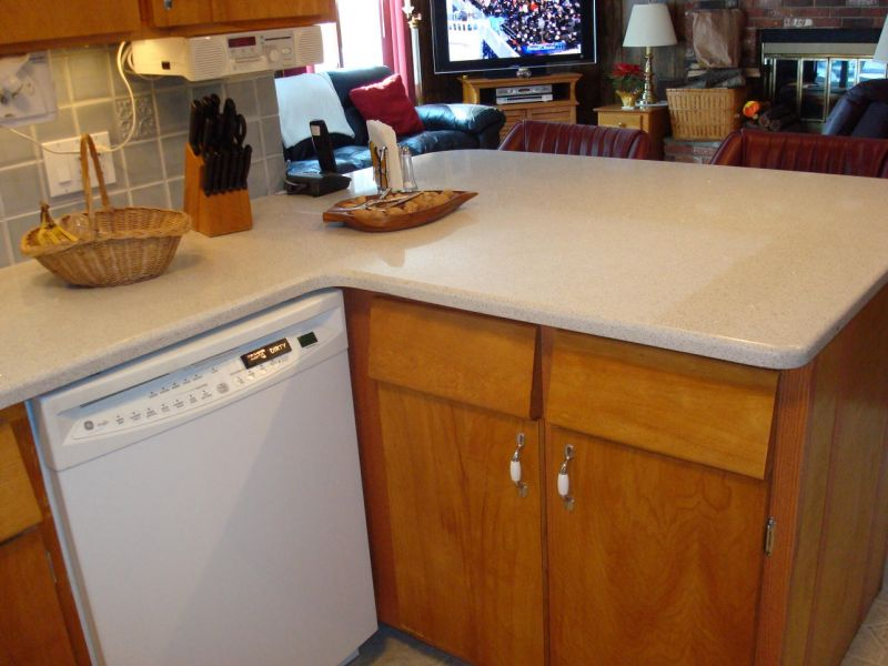 Es Countertops Silestone Stellar Snow Kitchen Countertop