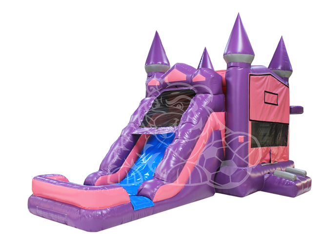 Fairy Princess Modular 4-1 Combo Bounce House Hopper  WET or DRY image - Jacksonville, FL