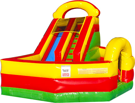 Play Ground  Slide  Combo 14' Bounce House Waterslide WET or DRY image - Jacksonville, FL
