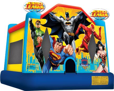 Justice League Theme Bounce House Hopper image - Jacksonville, FL