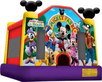 Disney Mickey Park Bounce House Hopper image - Jacksonville, FL