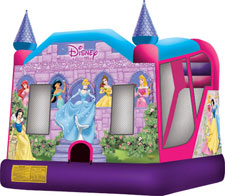 Disney Princess 4-1 Combo Bounce House Hopper WET or DRY image - Jacksonville, FL