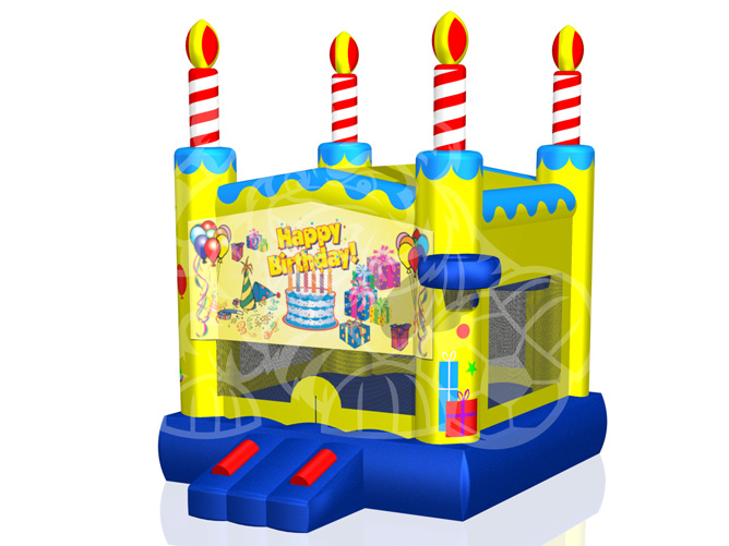 Modular Birthday Cake Bounce House Hopper image - Jacksonville, FL
