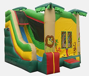 Jungle Theme 4-1 Combo Bounce House Hopper image - Jacksonville, FL