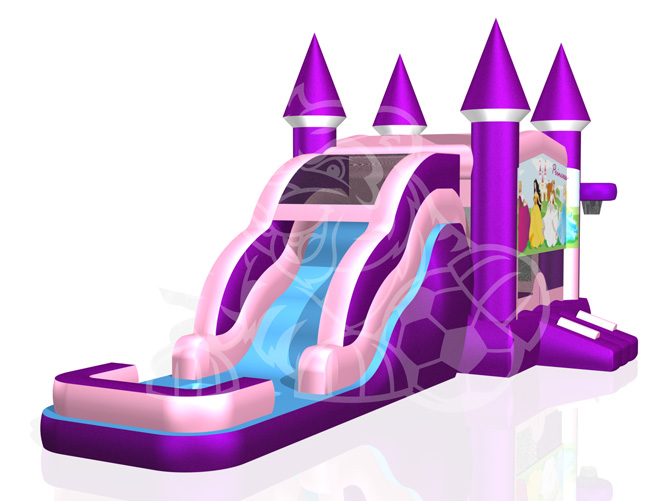 Dream Castle 4-1 Combo Bounce House Hopper WET or DRY image - Jacksonville, FL