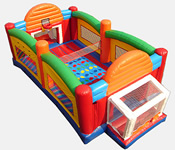 40' Ultimate Sports Arena Bounce House Hopper image - Jacksonville, FL