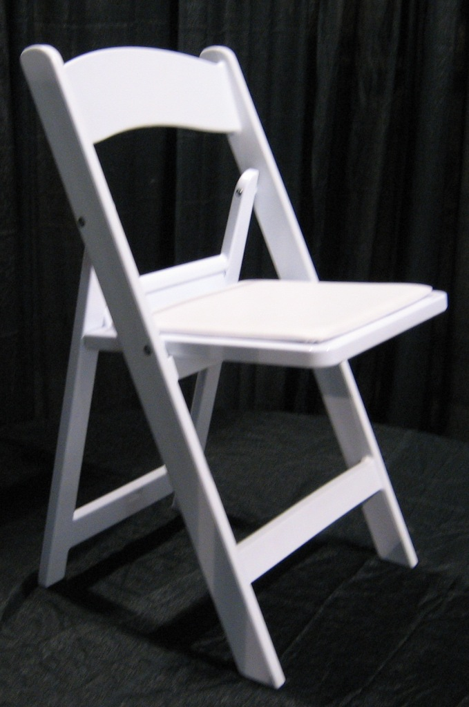 White Resin Chairs image - Jacksonville, FL