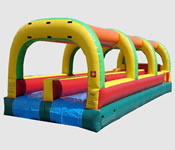 Rush Slip n Slide  30' Bounce House Waterslide WET or DRY image - Jacksonville, FL