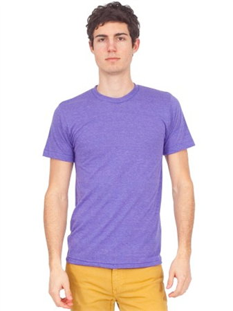 American apparel tri blend track tee made in usa for Custom t shirts manchester ct