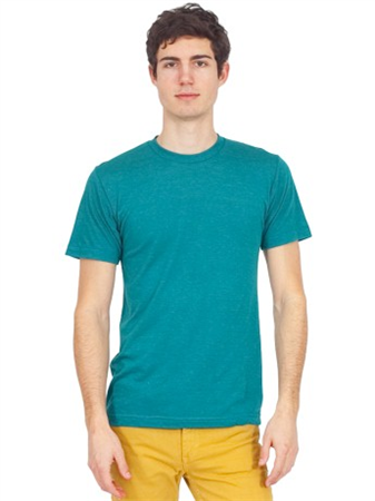 American apparel tri blend track tee made in usa for Tri blend custom t shirts