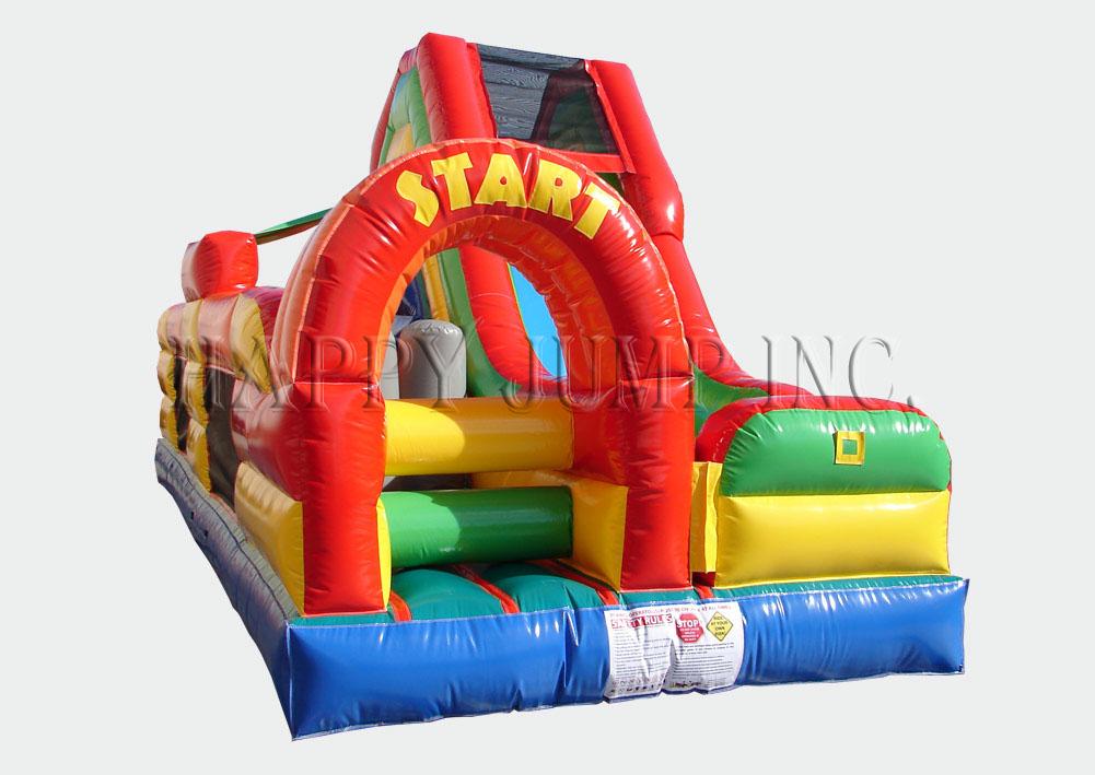 Carnival Course Challenge Bounce House Slide  image - Jacksonville, FL