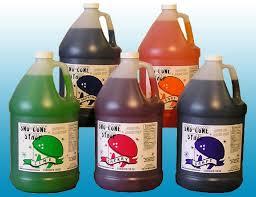 Sno Cone Syrup 1 Gallon image - Jacksonville, FL