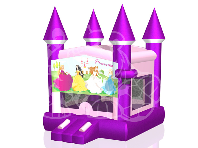 Modular Princess Castle Bounce House Hopper #3 image - Jacksonville, FL