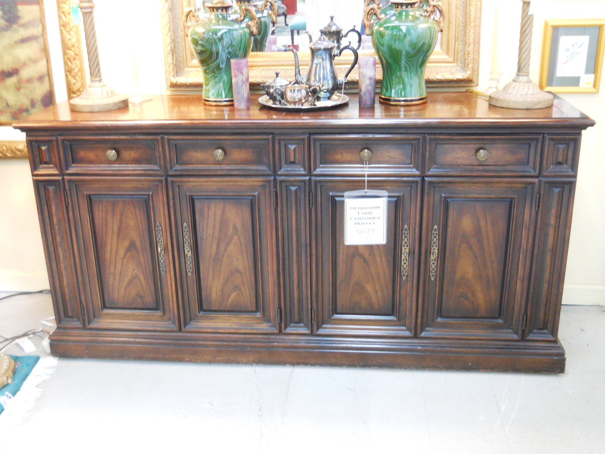 1 12164 Four Centuries Henredon Buffet Is Sold
