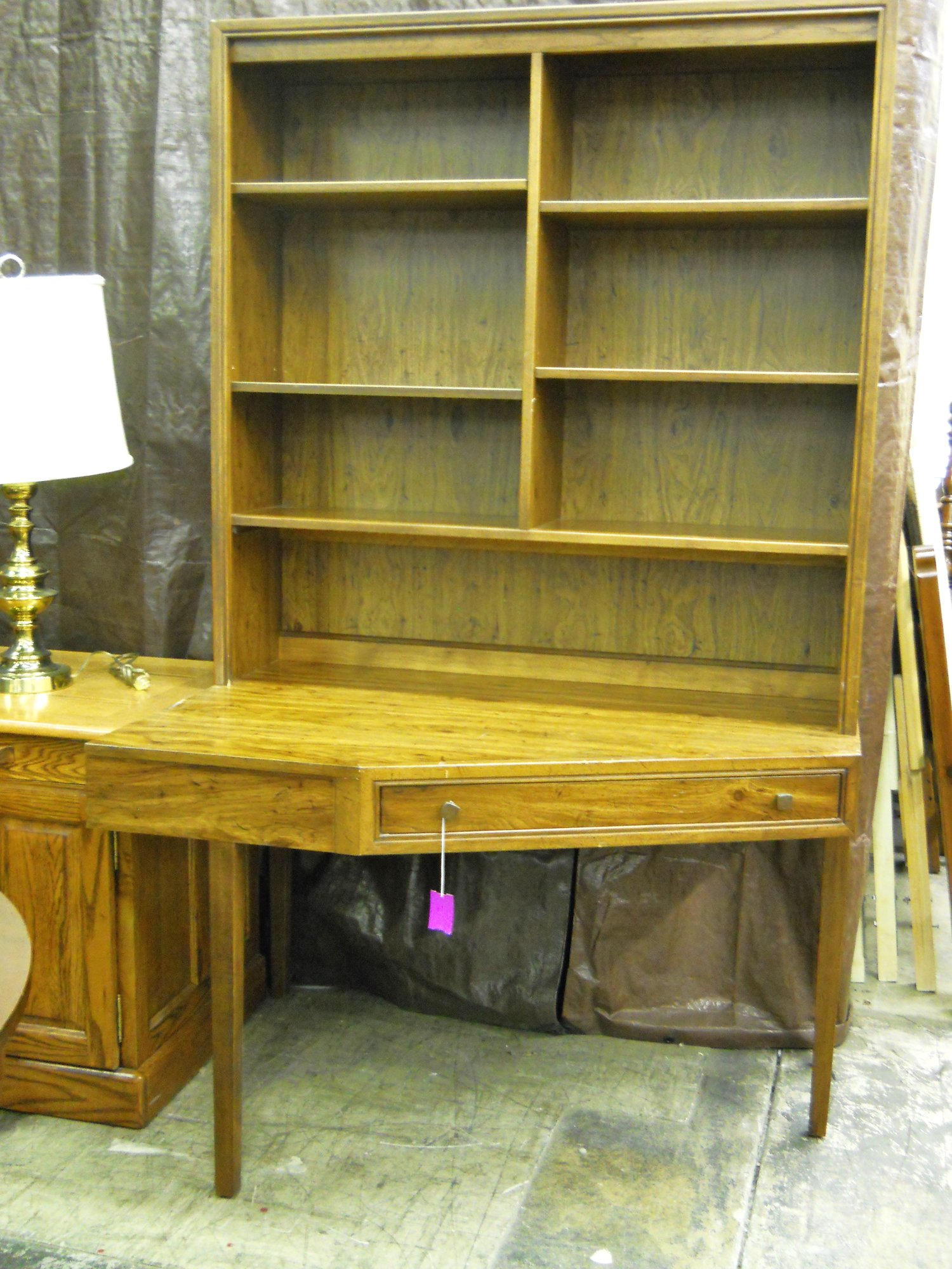 1 13641 Drexel Desk With Hutch