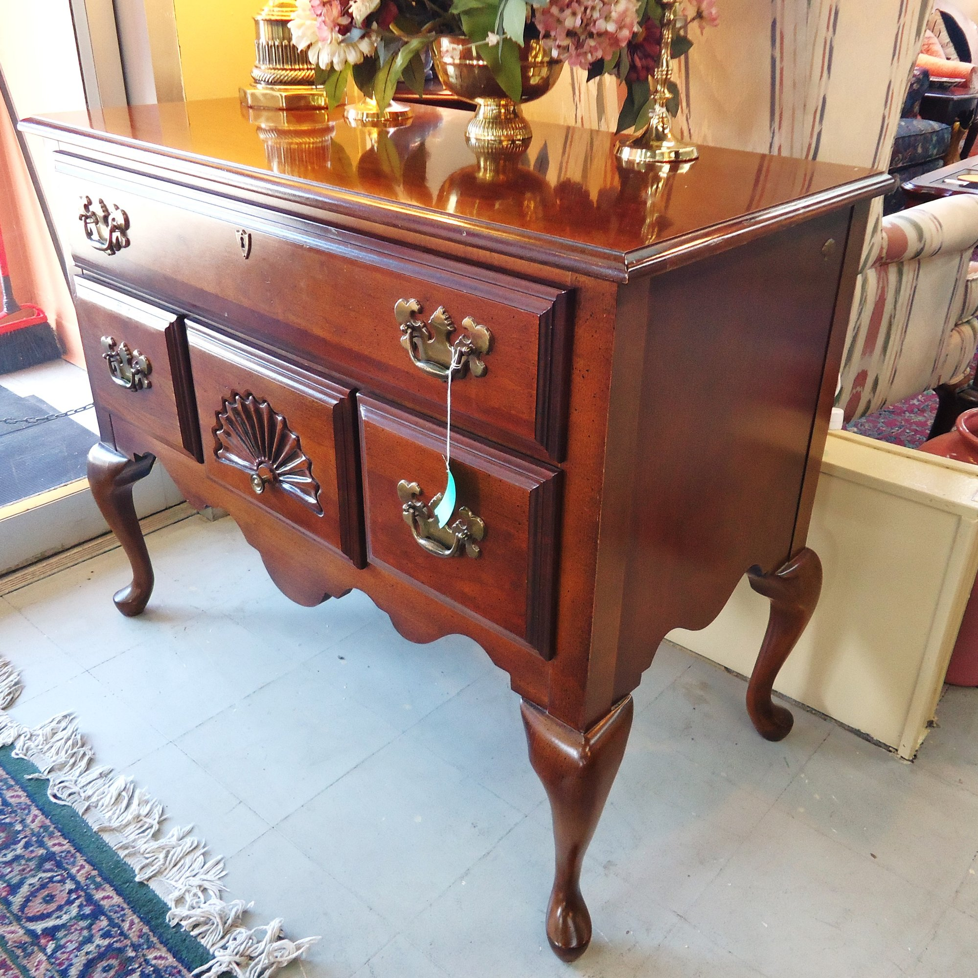 Used Furniture Gallery: 1-14705 American Drew Cherry Lowboy