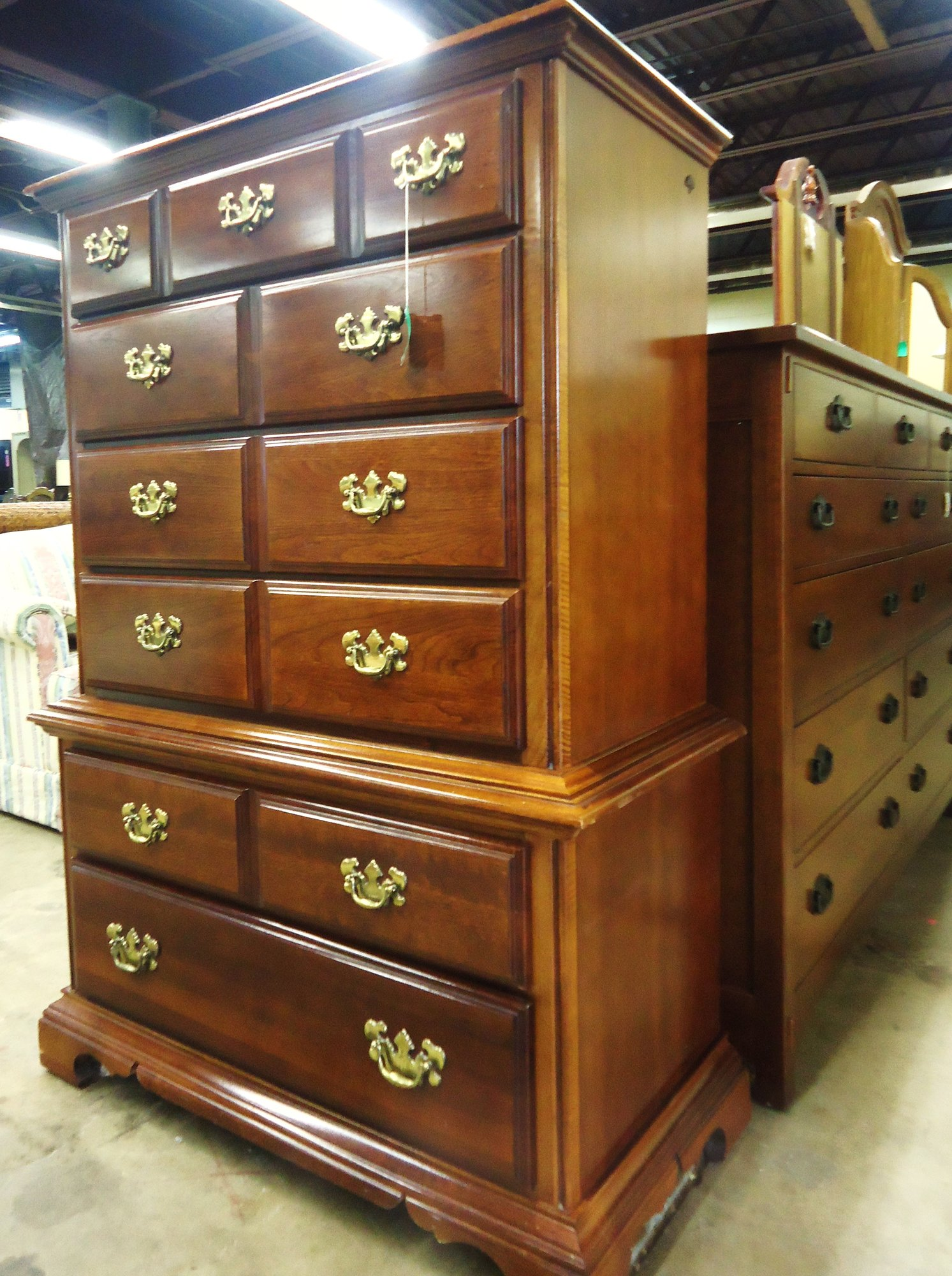 1 14932 American Drew Cherry Chest Is Sold
