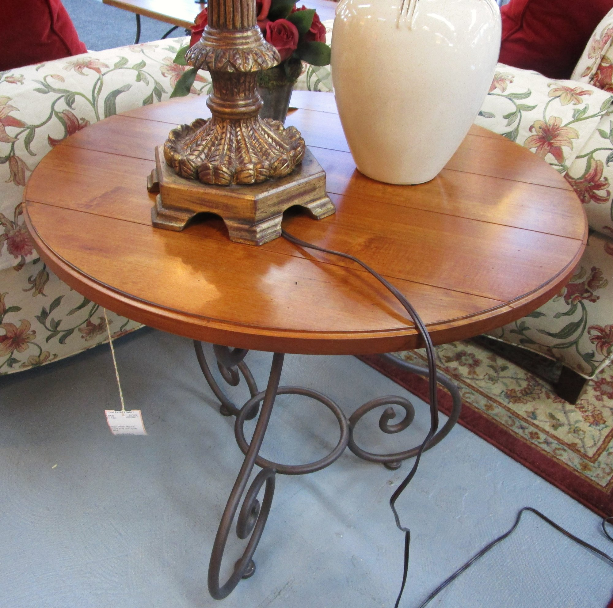 Ethan Allen Butler Tray Coffee Table: Used Furniture Gallery
