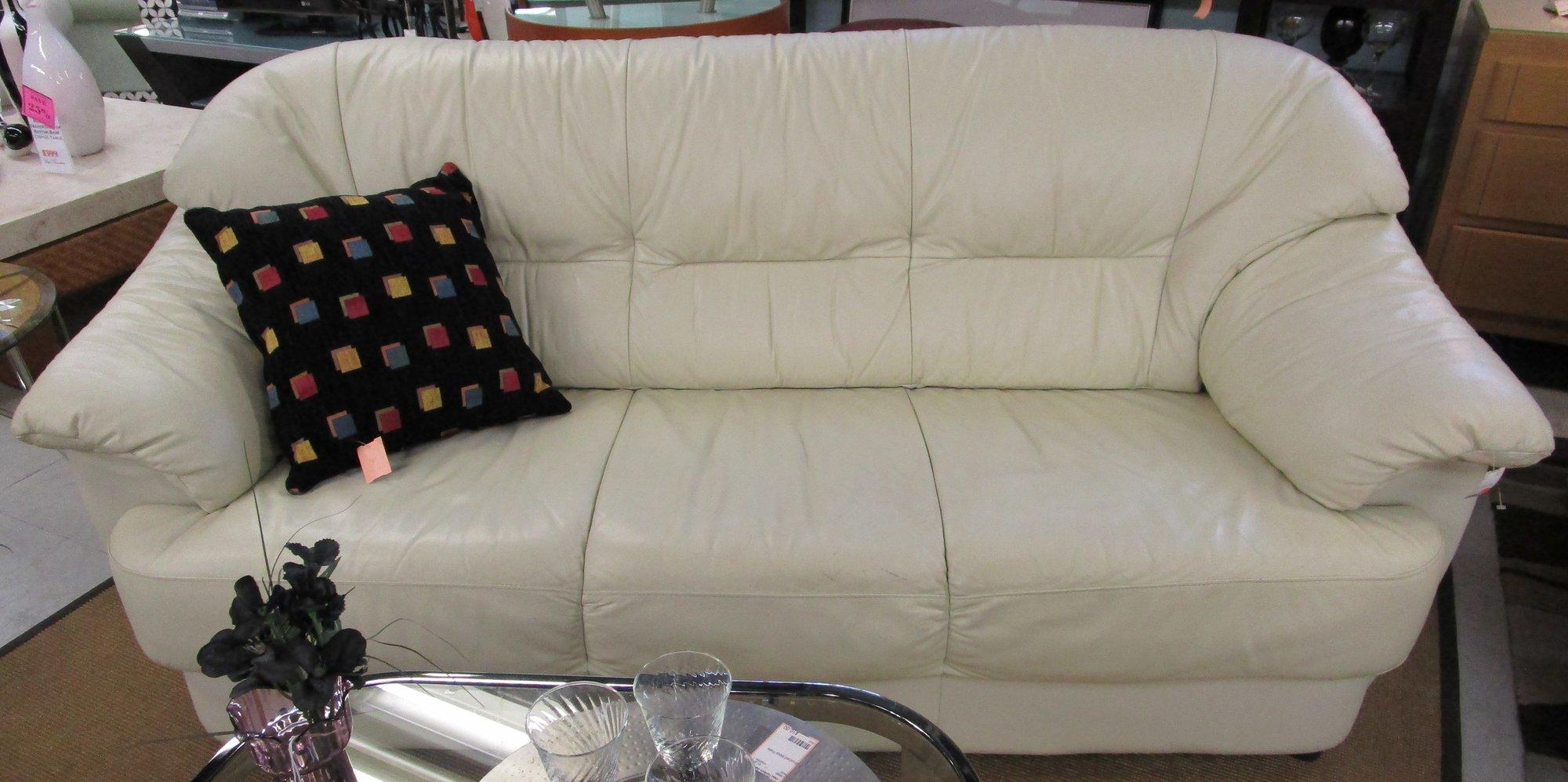 White Leather Sofa Top Lazzaro Melbourne