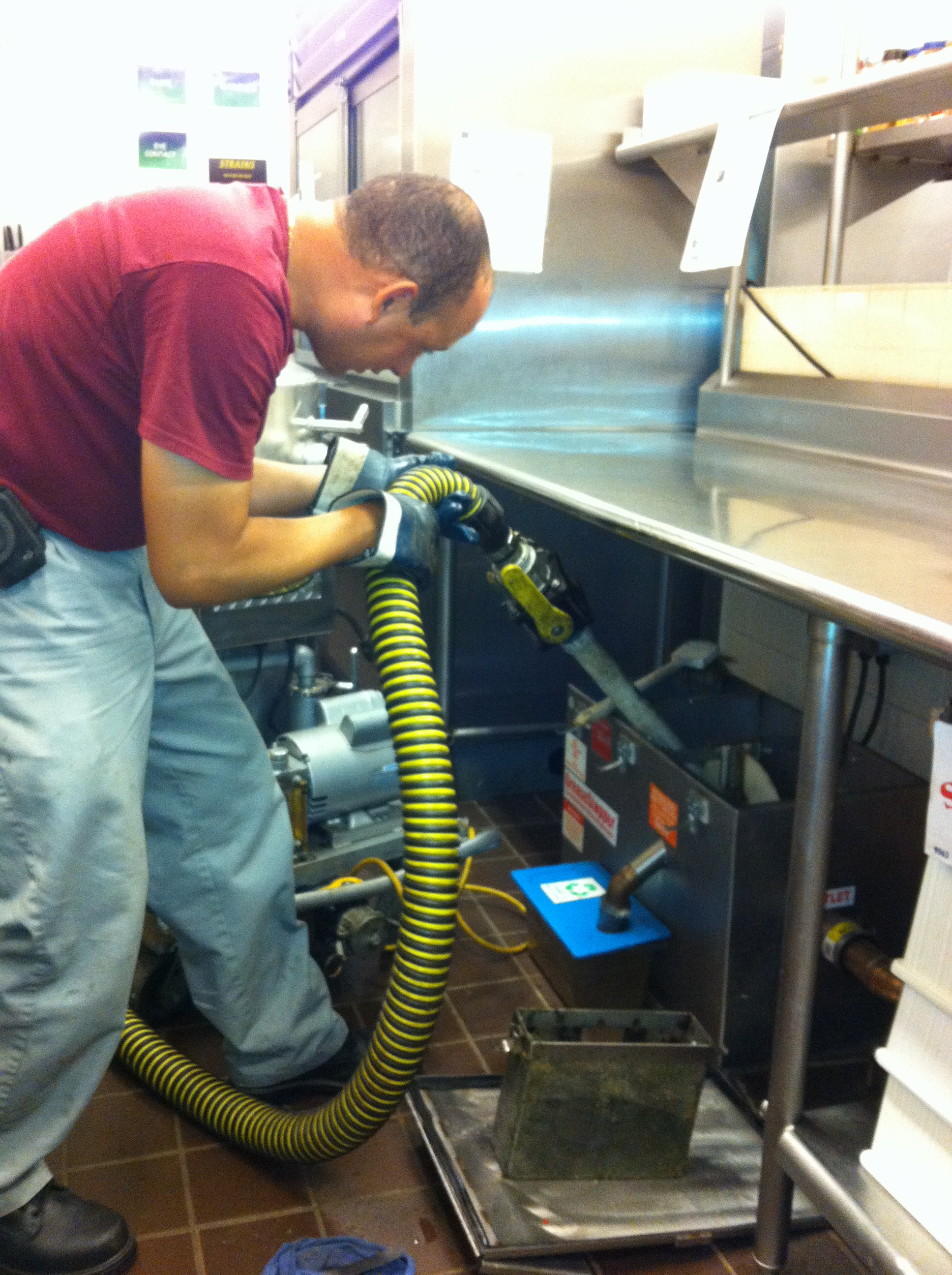 How to Clean a Grease Trap