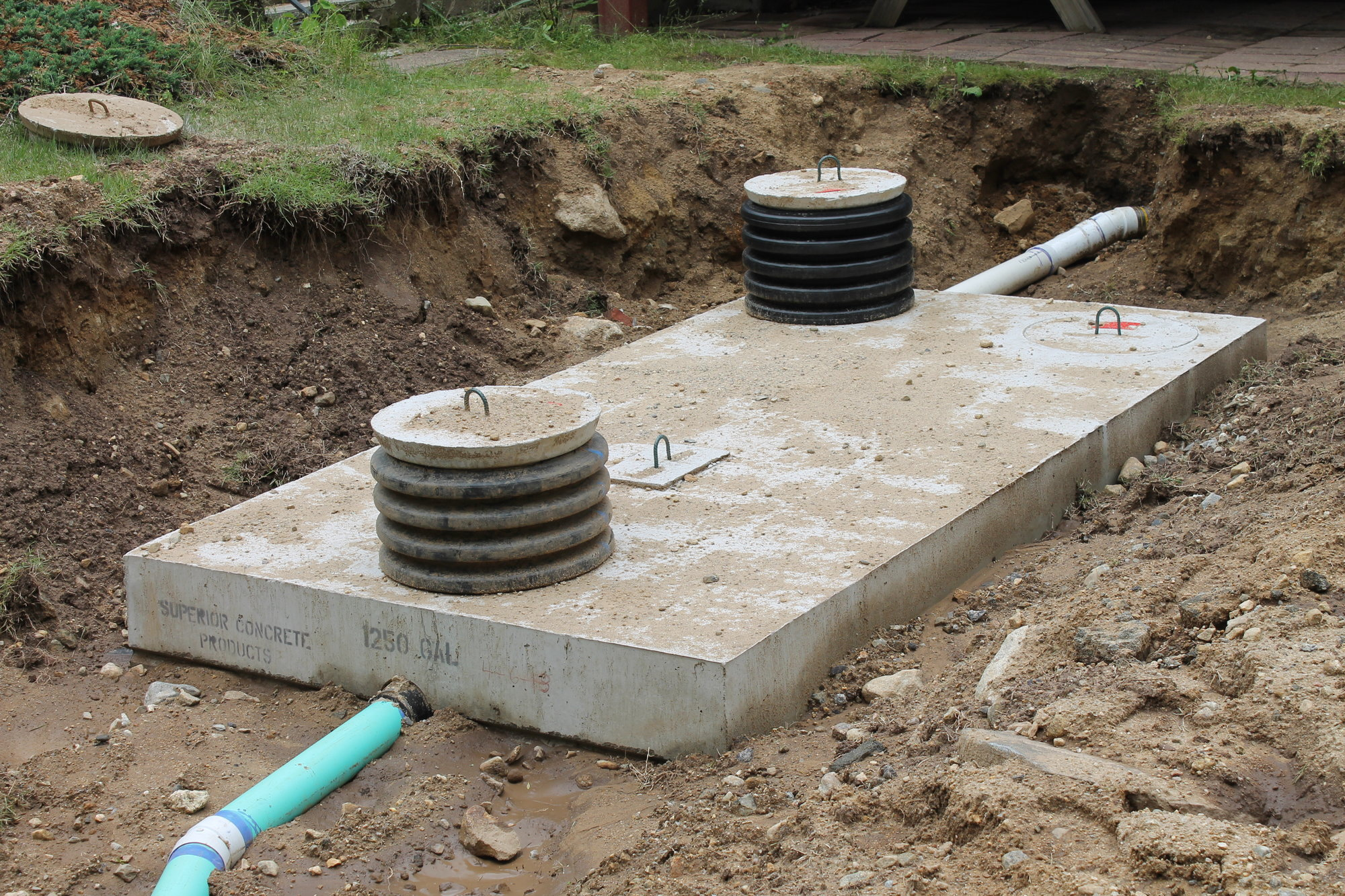 Residential and commercial septic system installation for Residential sewer systems