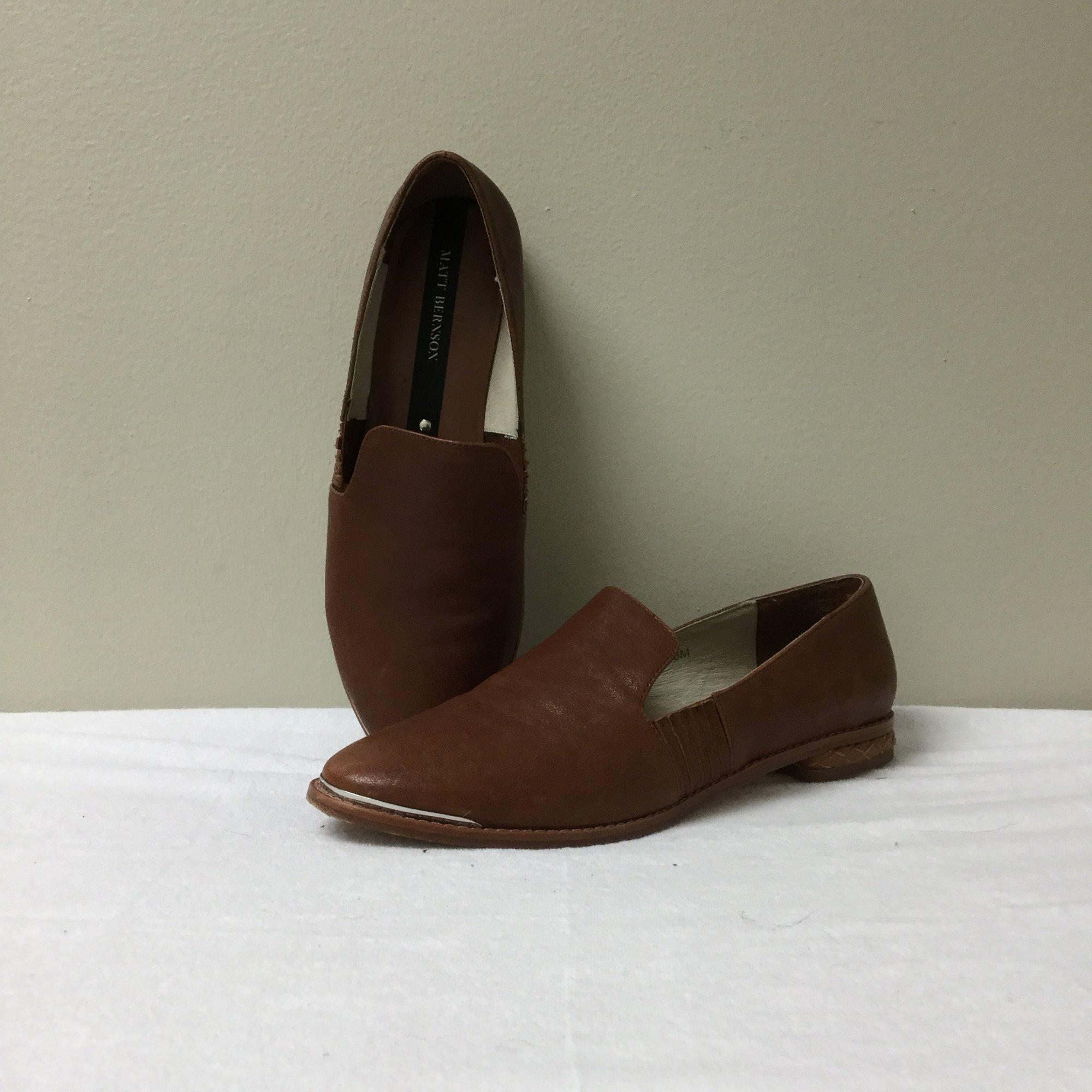 Matt Bernson Loafer<br /> Size 8<br /> Brown<br /> $42.00