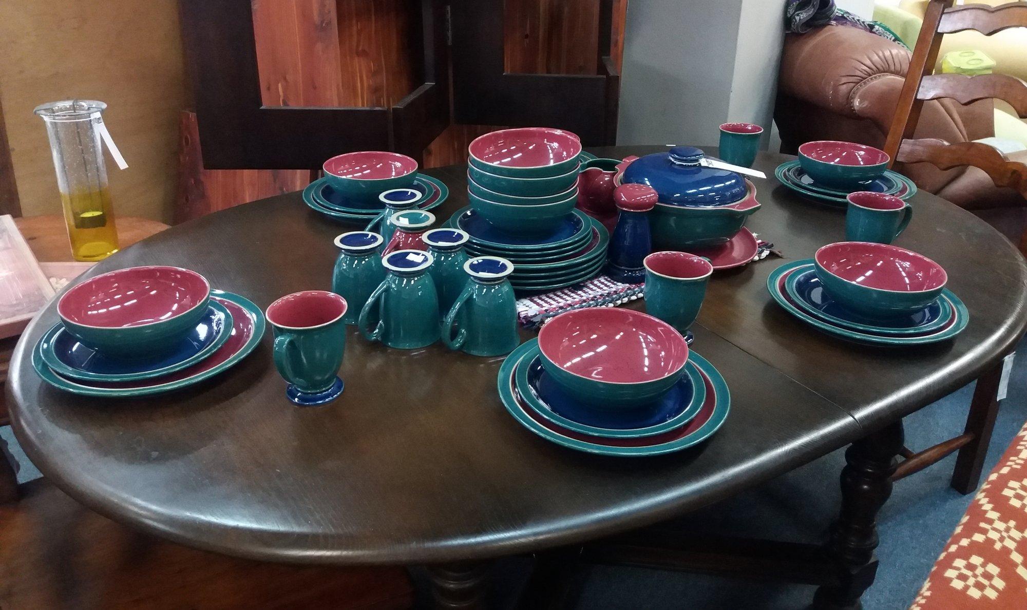 Denby Pottery Set