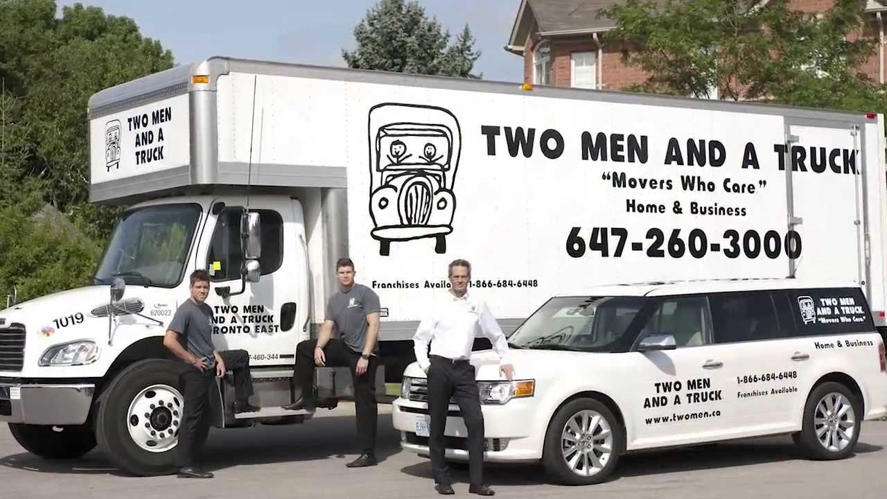 Two Men and a Truck Franchise Opportunity | Franchise Panda